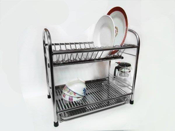☆成志金屬☆雙層小款*s-71g-D不鏽鋼餐盤架/不銹鋼瀝水架碗盤架,台灣製造,置物架、收納架。