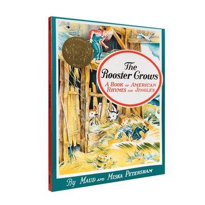 凱迪克金獎繪本 公雞 The Rooster Crows: A Book of American Rhymes and