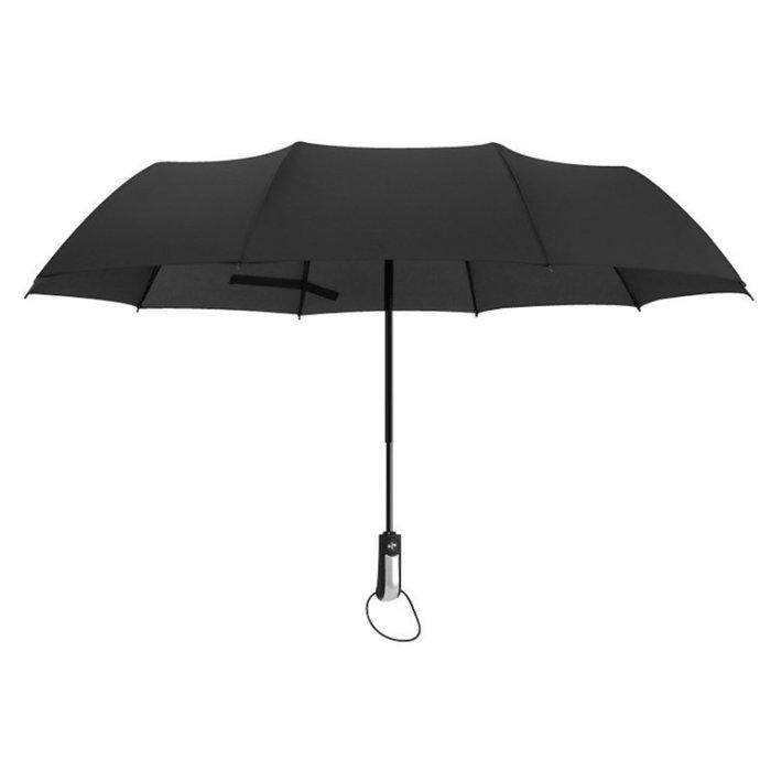 居家生活用品一鍵開收全自動傘兩用晴雨傘十骨折疊超大雙人傘I84