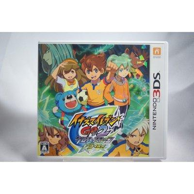 [耀西]二手 純日版 任天堂 3DS N3DS 閃電十一人 GO2 時空之石 雷鳴版