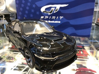 吉華科技@ 1/18 GT SPIRIT US025 Dodge Charger SRT 黑色