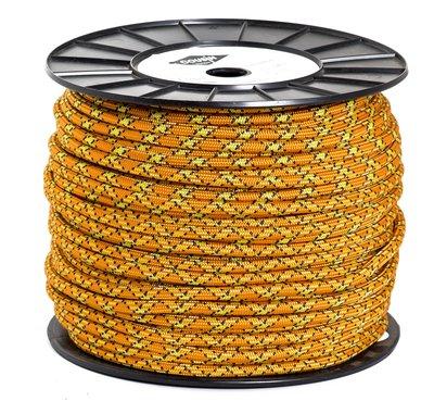 法國 cousin CORDS 8mm 普魯士繩 120米 橘黃色 每米