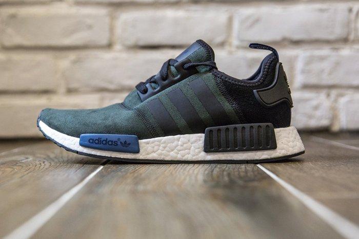 【美國鞋校】現貨 Adidas NMD RNNER S75230 女鞋 黑藍/白底 限量 你妹的