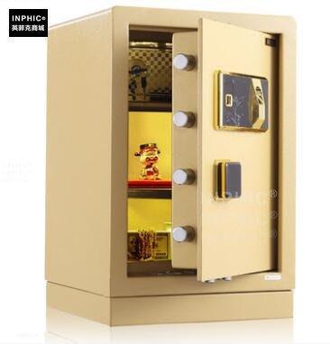 INPHIC-指紋保險箱家用小型 保險櫃家用全鋼入牆保管箱_S01900C