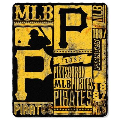 [現貨]美國職棒大聯盟蓋毯 裝飾毯 MLB匹茲堡海盜Pittsburgh Pirates車毯午睡宿舍交換生日禮品