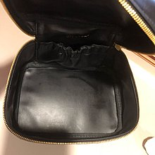 Chanel 香奈兒黑色化妝包 手提包 化妝箱 收納箱