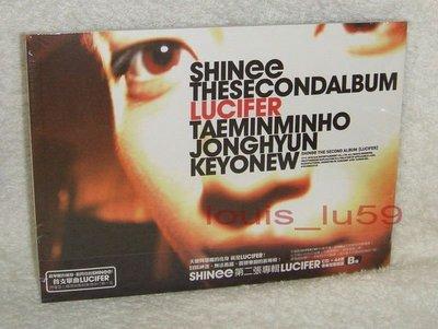 SHINee LUCIFER【台版CD + 44頁幕後花絮寫真 (B版)】鐘鉉 JongHyun
