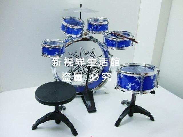 【新視界生活館】兒童爵士鼓12件套組合架子鼓電子鼓樂器拍拍鼓音樂玩具組合鼓12件套生日禮物禮品3618{XSJ319821498}