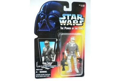 STAR WARS HAN SOLO IN HOTH GEAR WITH BLASTER PISTOL AND ASSAULT RIFLE 69587