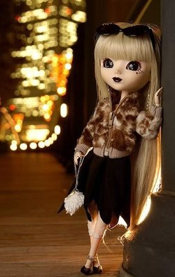 全新 New Jun Planning Groove Pullip fourrure F-522 doll