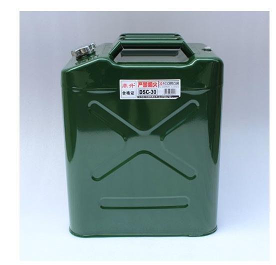 【優上精品】汽車備用油箱鼎升便攜式備用油箱備用汽油桶油桐30L30升柴油桶(Z-P3146)