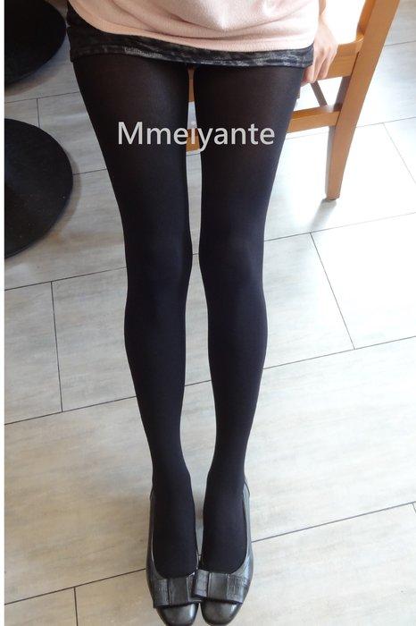 顯瘦版【黑絲襪M-L】黑絲襪不透膚絲襪 超濃黑 百搭顯瘦!三雙再免運!
