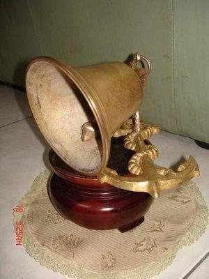 典藏一隻海軍艦艇上純銅製作的銅鐘-清脆響亮