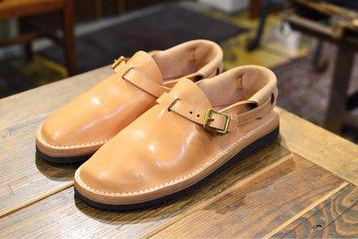 Rolling Dub Trio旗下【Tokyo Sandals】Heel Hold Sandals 皮革拖鞋包鞋