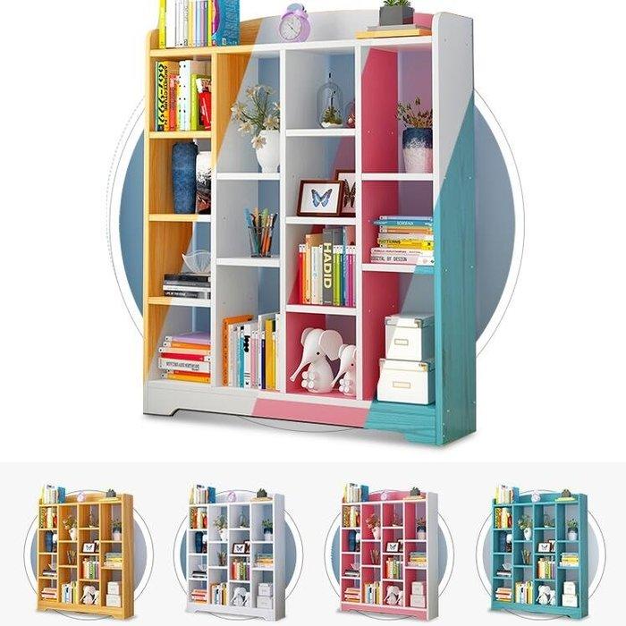 促銷款書櫃書櫃書架落地簡約現代小書架學生用簡易桌上置物架臥室組合仿實木推薦xc