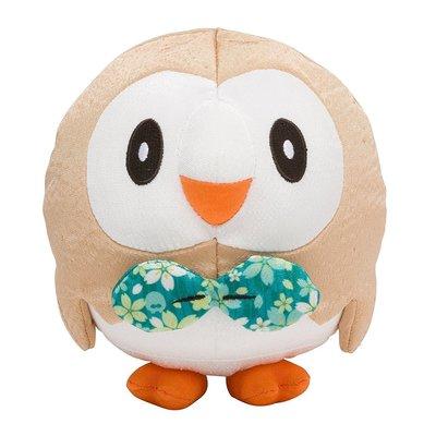 寶可夢 木木梟 和風 玩偶 娃娃 日本神奇寶貝中心 限定原裝進口