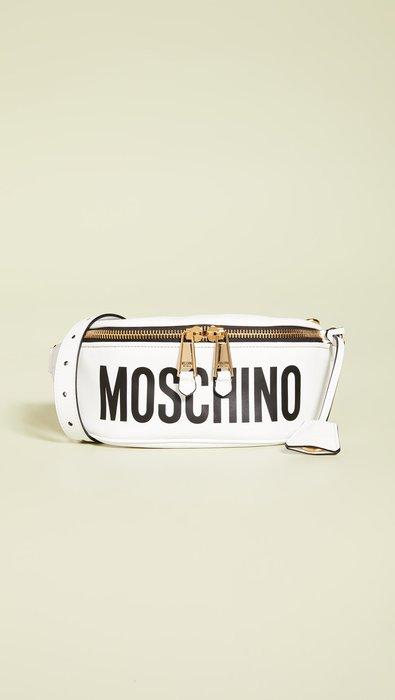 ◎美國代買◎Moschino 印字logo復古時尚經典腰包