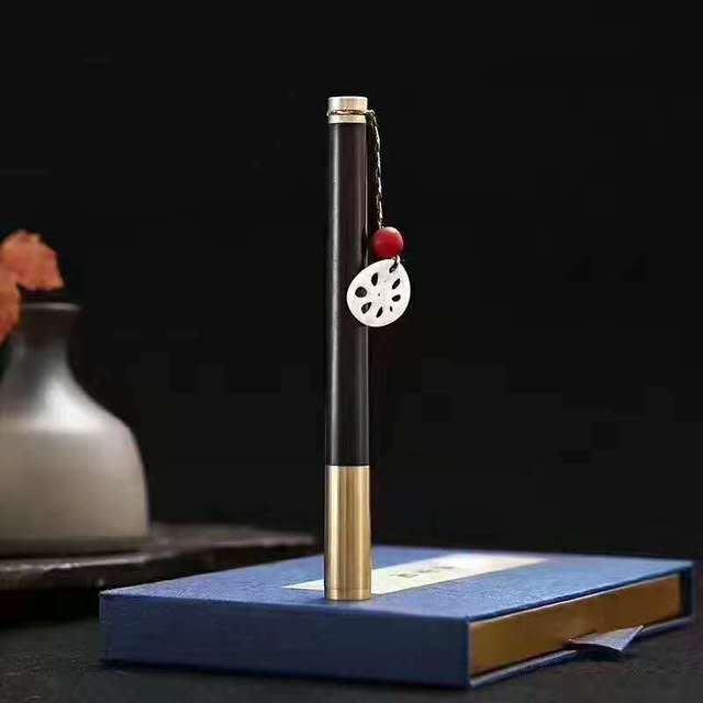 吉善緣@便攜香器 兩用沈香線香爐香插 木質香筒香具