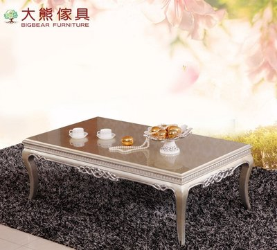 【大熊傢俱】CT0407 新銀狐 大茶几 方几 泡茶桌 邊几 桌子 餐桌