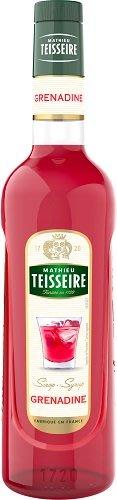 Teisseire 糖漿果露-紅石榴風味  法國頂級天然糖漿 700ml-【良鎂咖啡精品館】