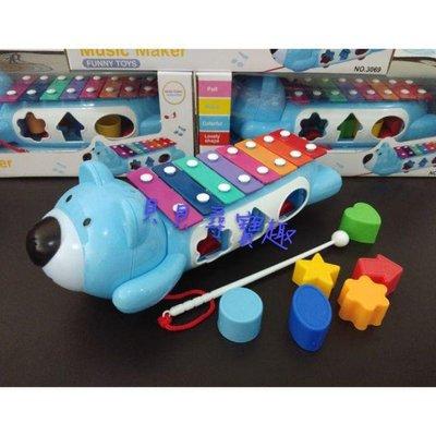 ?貝貝尋寶屋?好奇小熊歡樂敲琴