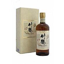竹鶴17年 whisky 威士忌