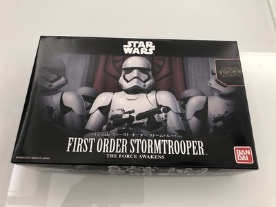 星際大戰STAR WARS  日本正版 First Order Stormtrooper 1/12