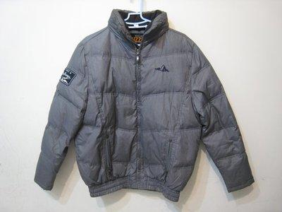PUZZLE 灰色 鋪棉 夾克 附帽外套/M