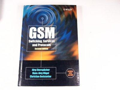 【考試院二手書】《GSM:Switching,Services and Protocols》│John Wiley & Sons│Eberspacher│八成新(31F35)
