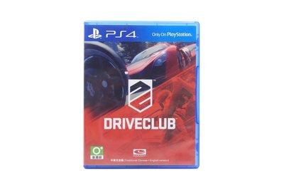 【橙市青蘋果】PS4:駕駛俱樂部 Driveclub 中英文合版 #47232 台中市