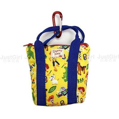 迪士尼 玩具總動員 手提包 零錢包 隨身腰包 收納包 配件 正板日本進口 JustGirl