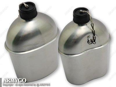 【ARMYGO】國軍制式不鏽鋼水壺