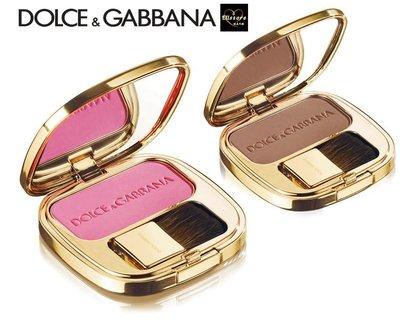 EUstore現貨►Dolce Gabbana胭脂亮澤腮紅修容40 Provocative/22 Tan歐美代購D&G
