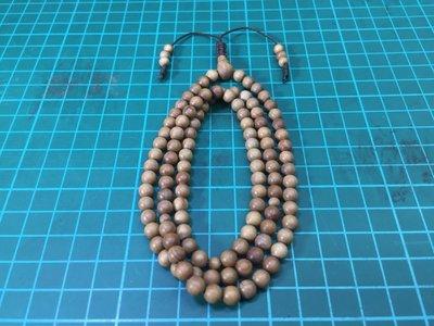 N6LS1353印度老山檀香 6mm 念珠