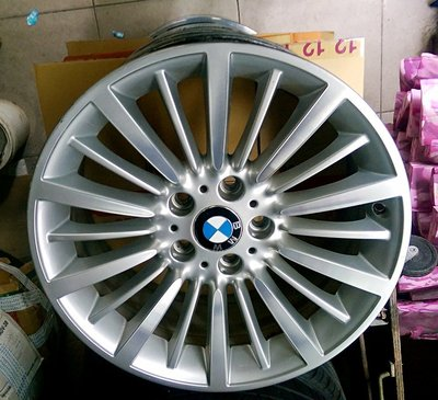 寶馬 F30 BMW 原廠 運動版 SPORT 落地胎18吋 鋁圈 不含馬牌 225/45/18 輪胎