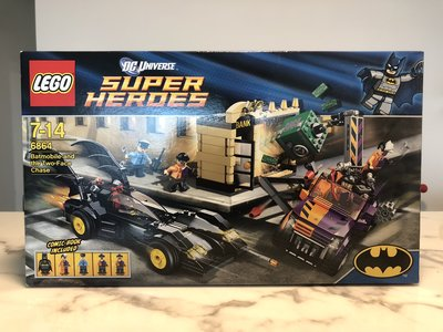 MISB 全新 LEGO DC Super Heroes 6864 - Batmobile and the Two-Face Chase