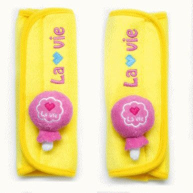 。小森親子好物。日本糖果造型兒童安全帶護套 2入 (現貨)【KF15120065】