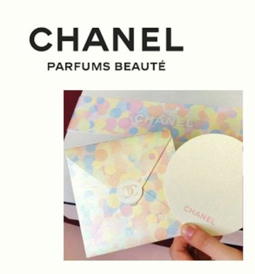 Chanel 香奈兒 2019年 最新 活動 卡片組