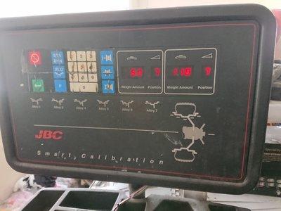 平衡機修理 美國 JPC 面板按鍵 代用按鍵 先詢問 再報價