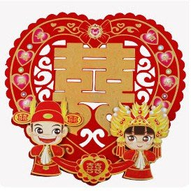 ❤️臻愛婚品館❤️新婚房裝飾佈置創意喜字~中式新人