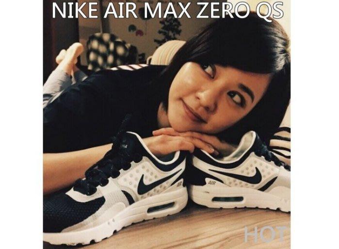 NIKE AIR MAX ZERO QS 26週年 MAXDAY 限量發售 氣墊鞋 慢跑鞋 男女 休閒鞋 白藍 情侶鞋