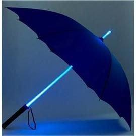 LED發光雨傘 帶手電筒 七彩雨傘(電池需自備)