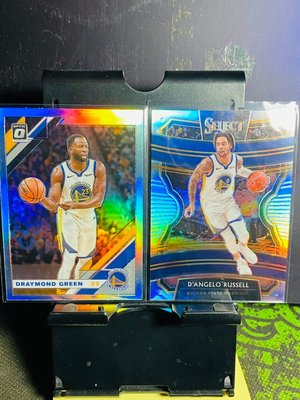 19-20 Optic Draymond Green / Select  D'Angelo Russell 亮面