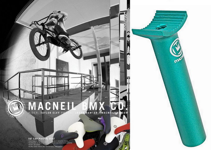 [I.H BMX] MACNEIL STUMP SEATPOST PIVOTAL 座管 綠色 極限單車 滑步車 場地車