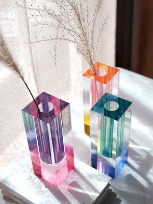 琳瑯家居 費靈家居北歐現代Mellow印象派漸變色花器 簡約藝術花瓶輕奢擺件