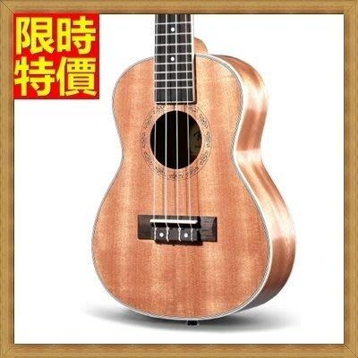 烏克麗麗 ukulele-奧古曼合板23吋夏威夷吉他四弦琴樂器69x26[獨家進口][米蘭精品]