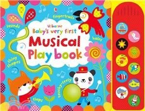 童書-Baby's Very First Touchy-Feely Musical Play Book (硬頁觸摸音效書) 二手書
