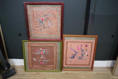 (海林堂) K 17-05 刺繡三件