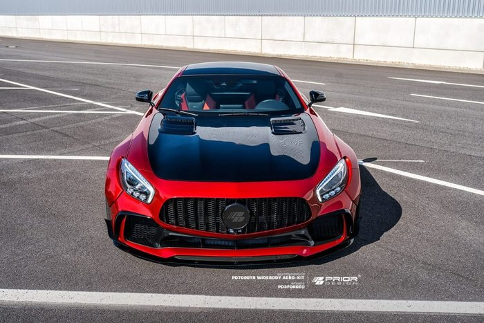 【樂駒】Prior Design PD700GTR Widebody Mercedes BENZ GTS 寬體 大包