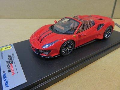 =Mr. MONK= Looksmart Ferrari 488 Pista Spider
